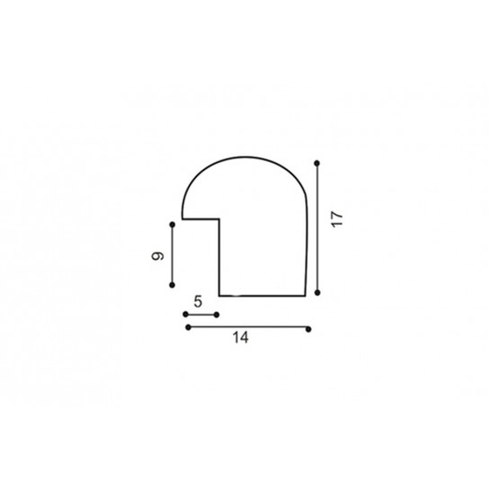 Фоторамка 15х21см (А5), 1417-59