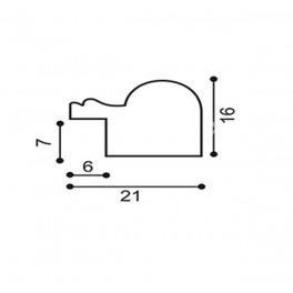 Багет 2115B-47