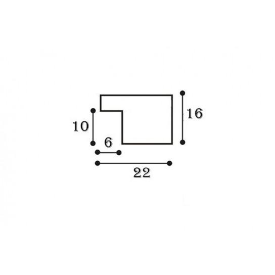 Фоторамка 10x15см, 2216А-203