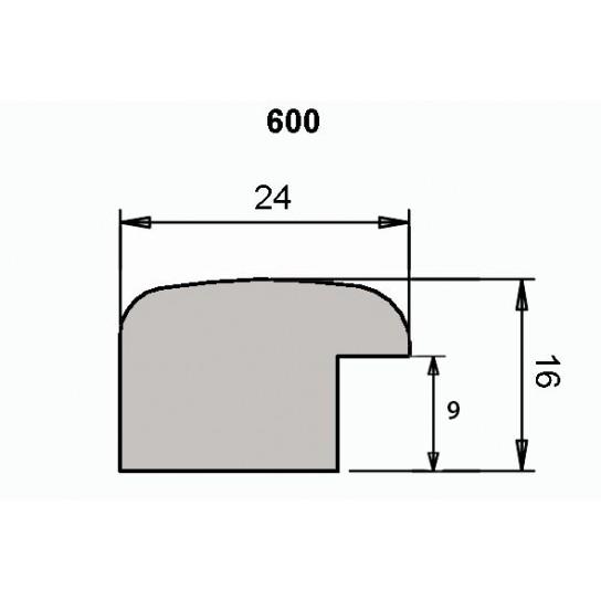 Багет 600-21